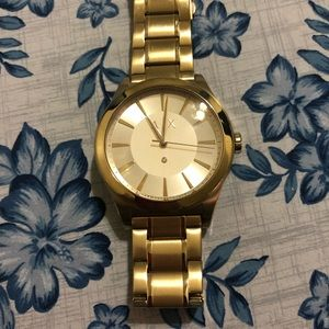 AX Gold Watch